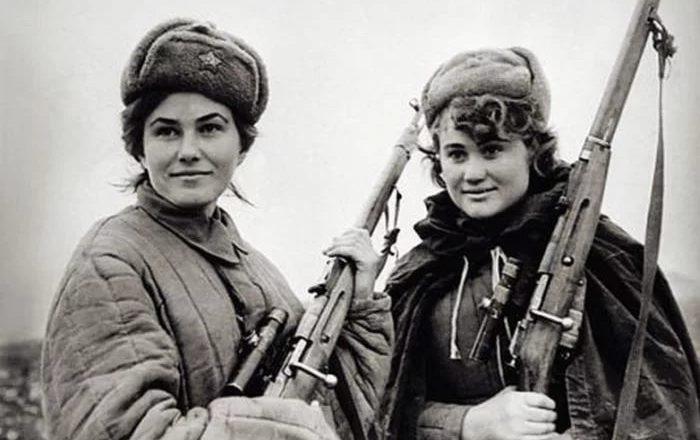 Советские партизанки
