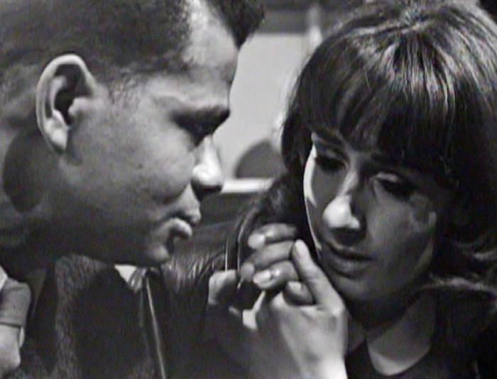 Первый межрасовый поцелуй – 1968 год