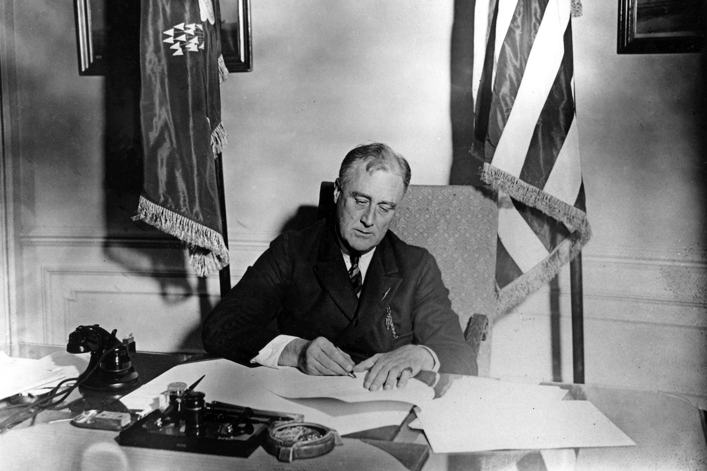 Франклин Делано Рузвельт – 1933 год
