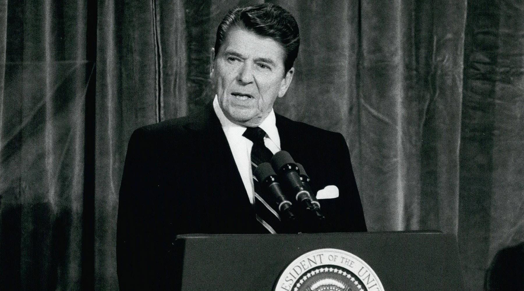 Рональд Рейган -1981 год