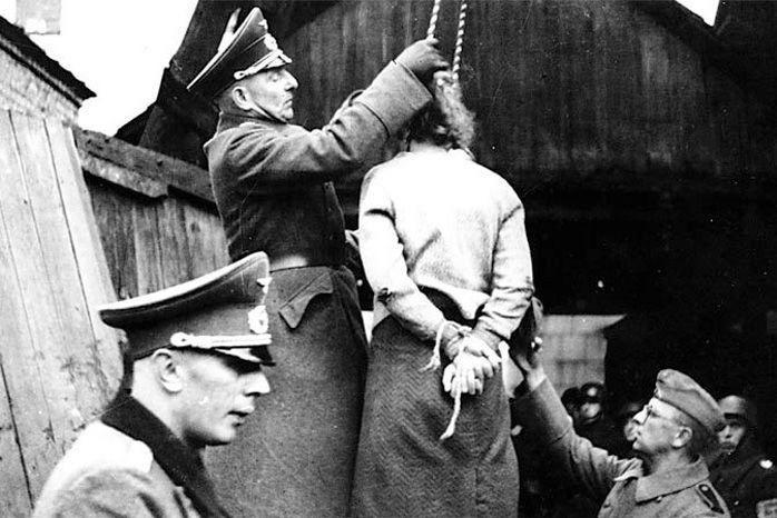 гестапо в городе