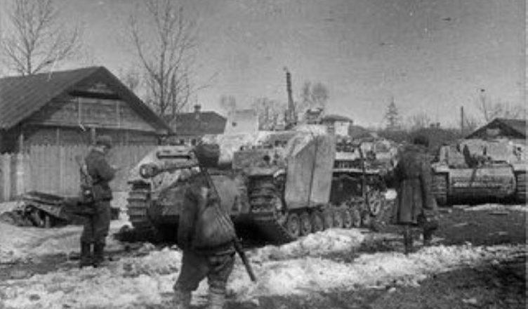 наступление врага на Орджоникидзевском направлении