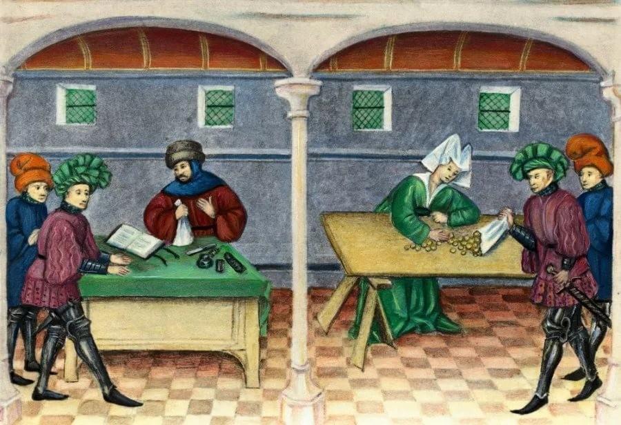Банки Средневековья