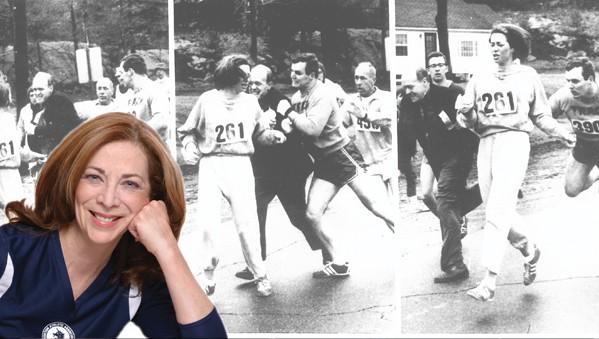 Она стала первой женщиной, участвовавшей в Бостонском марафоне