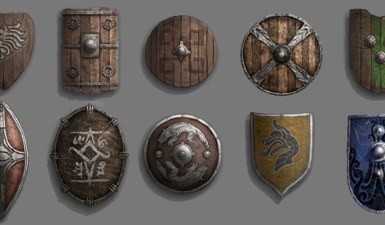 средневековых западноевропейских щитов