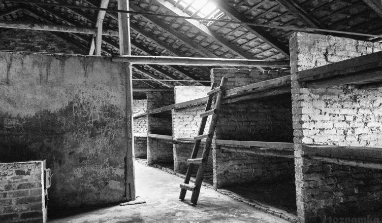 тюремный блок в концлагере