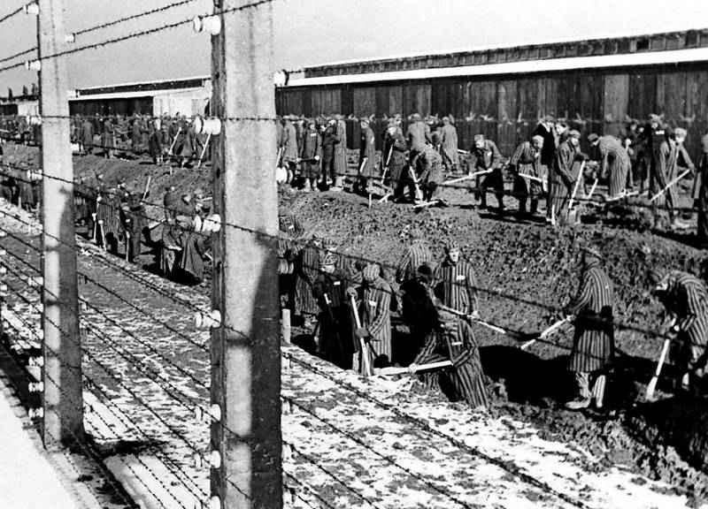 Заключенные концлагеря не имели права