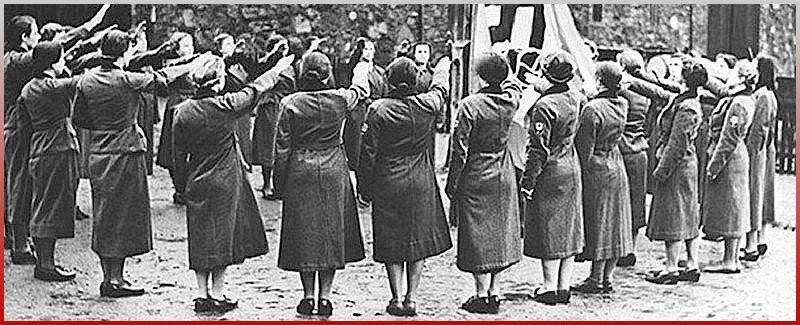 Как жило население нацистской Германии