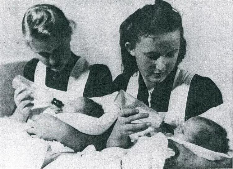 Дети «Лебенсборн», что с ними стало после Второй мировой войны
