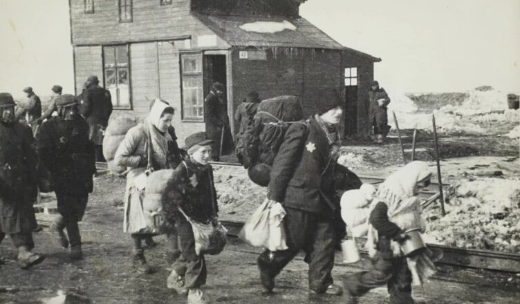 Жизнь евреев в Лодзинском гетто