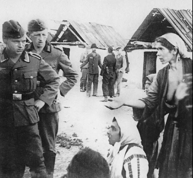 преступления, совершённые нацистами в годы Второй мировой войны