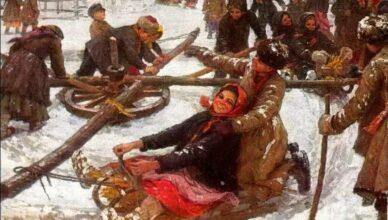 Чем занимались на Руси зимой?