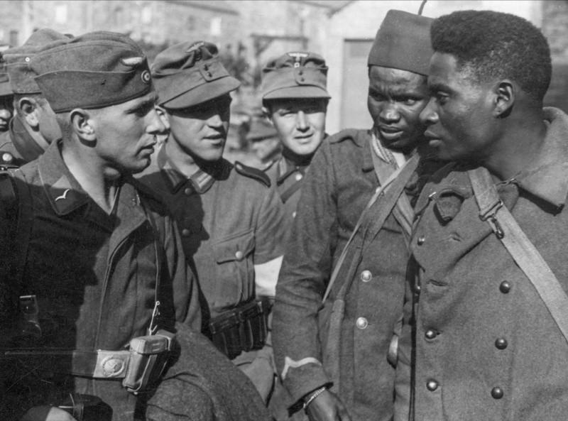 и негры в армии Вермахта
