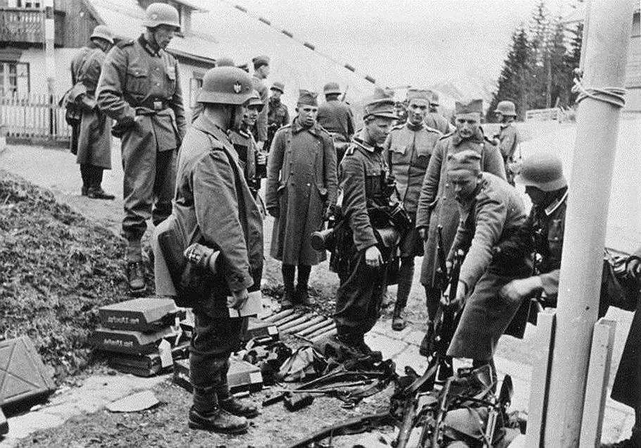 Фашистский раздел Югославии