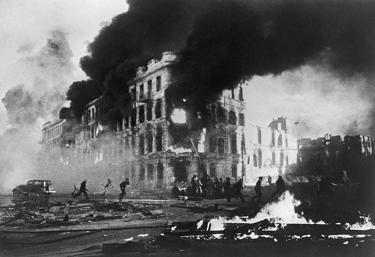 сталинград вов