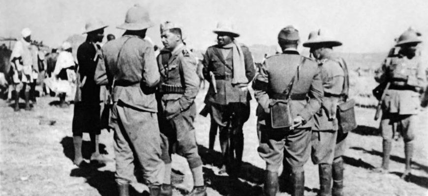 Эфиопия сражалась против итальянских фашистов
