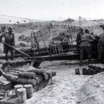 Мощные залпы возвестили о начале артиллерийской подготовки