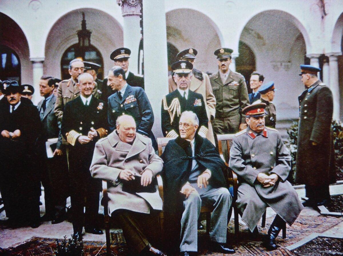 Черчилль вспоминал о Сталине и Рузвельте