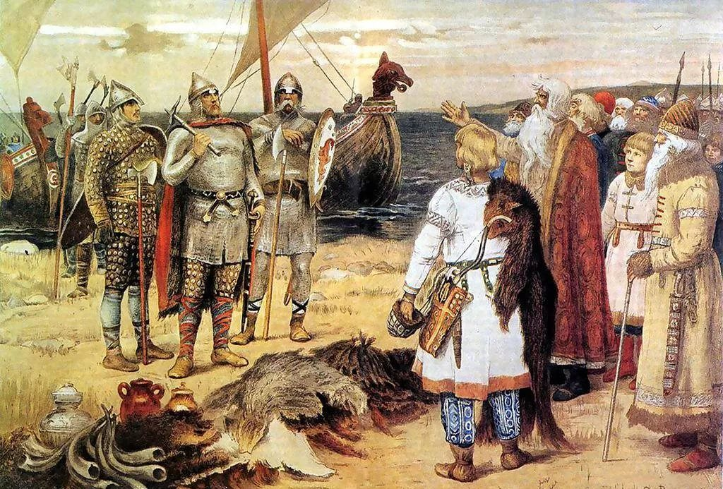 славяне дружили с викингами