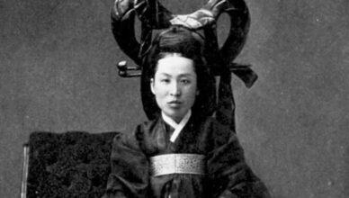 корейская королева Мин