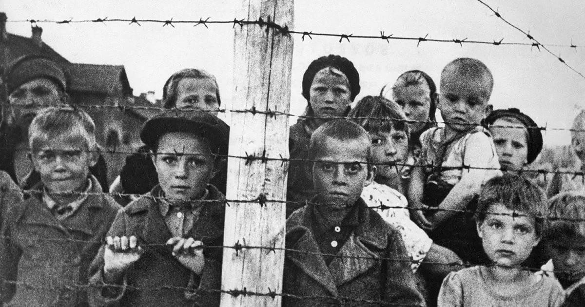 детей в Бухенвальде