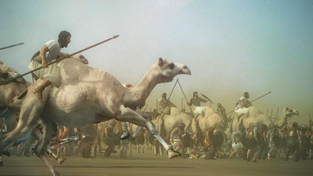 Как воевали всадники на верблюдах