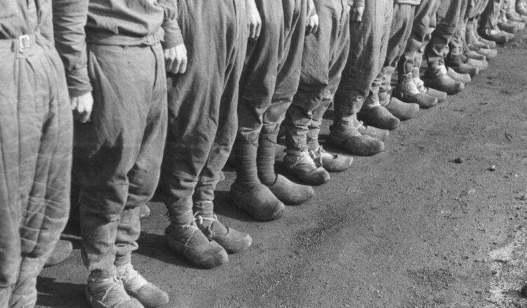в немецких концлагерях