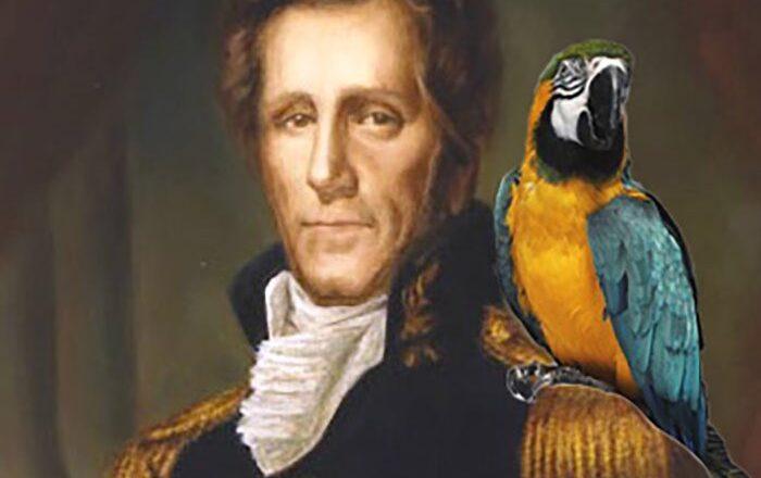 Говорящий попугай Эндрю Джексона