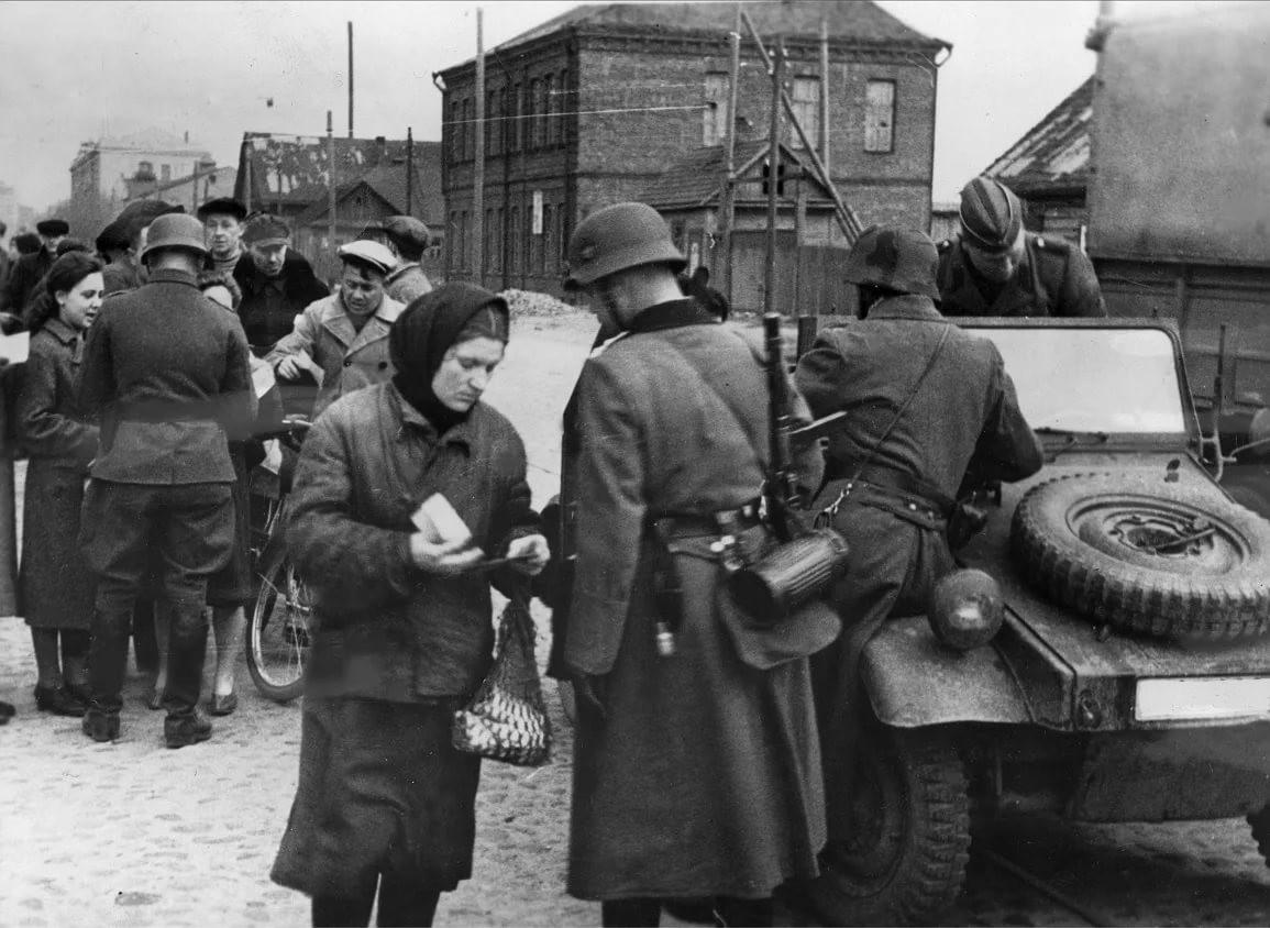 Западной Украины во времена оккупации
