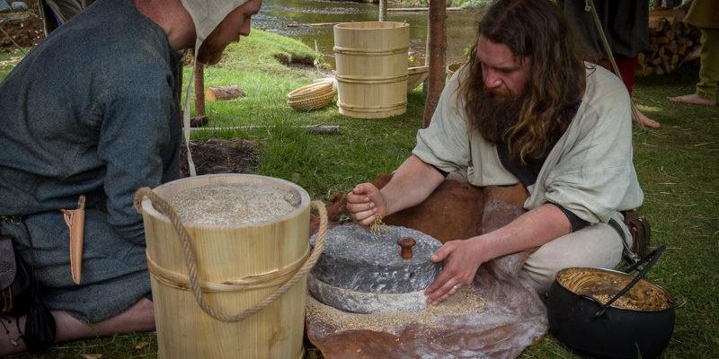 Любимая пища викингов