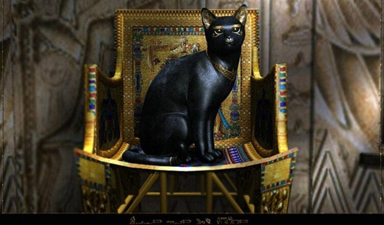 кошки считались священными животными в Древнем Египте