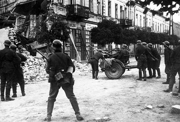 Фашистский террор в Польше