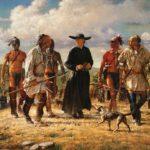 индейцы и колонисты