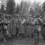 Как 10-ая стрелковая встретила немцев