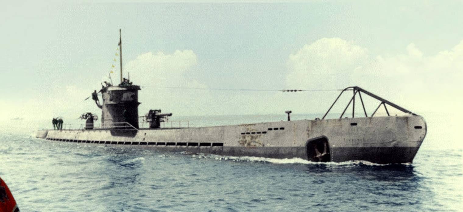 подводную лодку U-108