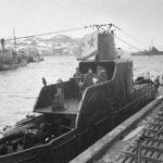 Храбрость немецкого командира подводной лодки