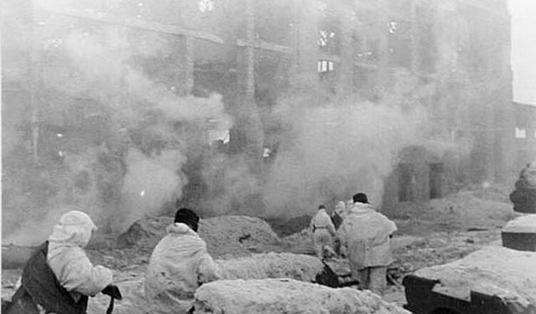 Десантники под Сталинградом