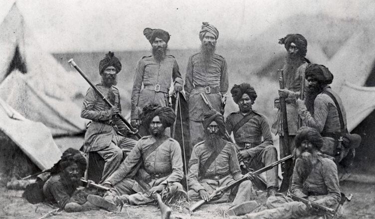 индийские сипаи в Первой мировой войне