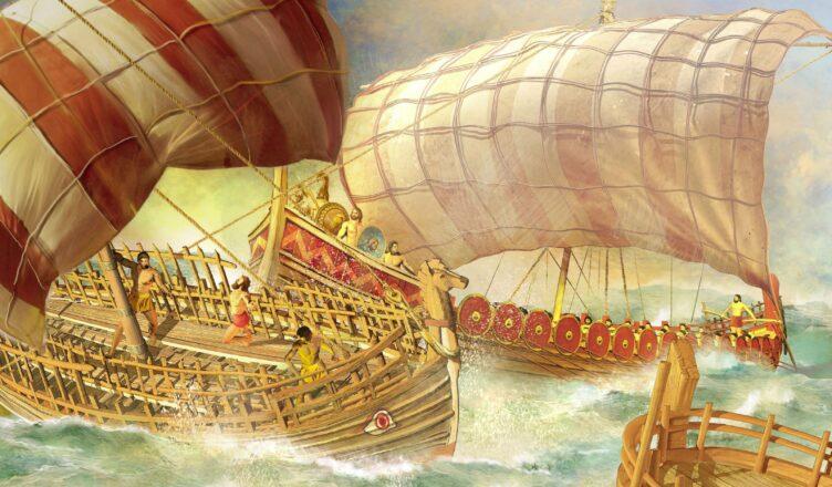 флот в древние времена