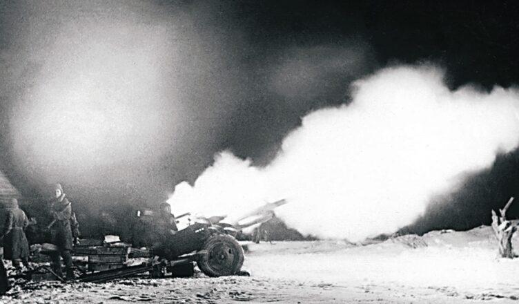 Огонь береговой артиллерии