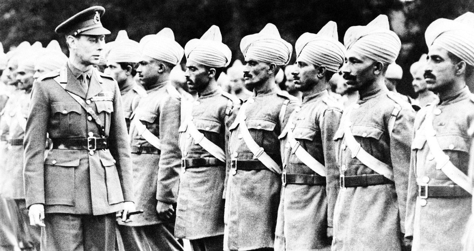 индийских солдат Первой мировой