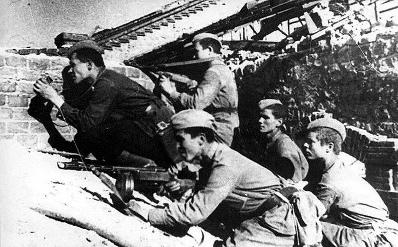 вов сталинград стрелковая