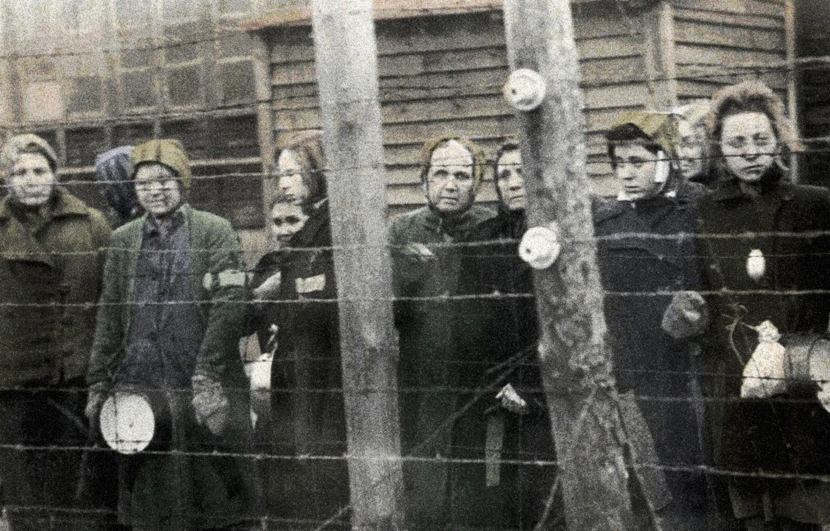 женщины в концлагеря