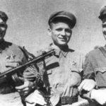 Советские десантники в боях