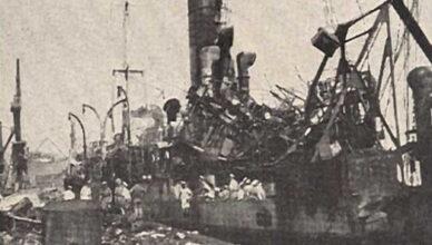 судно «Форт Стикин» уничтожило порт в Бомбее