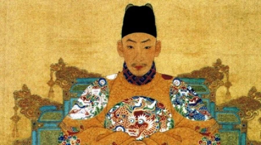 Китайский император Чжэндэ – 1491-1521 годы
