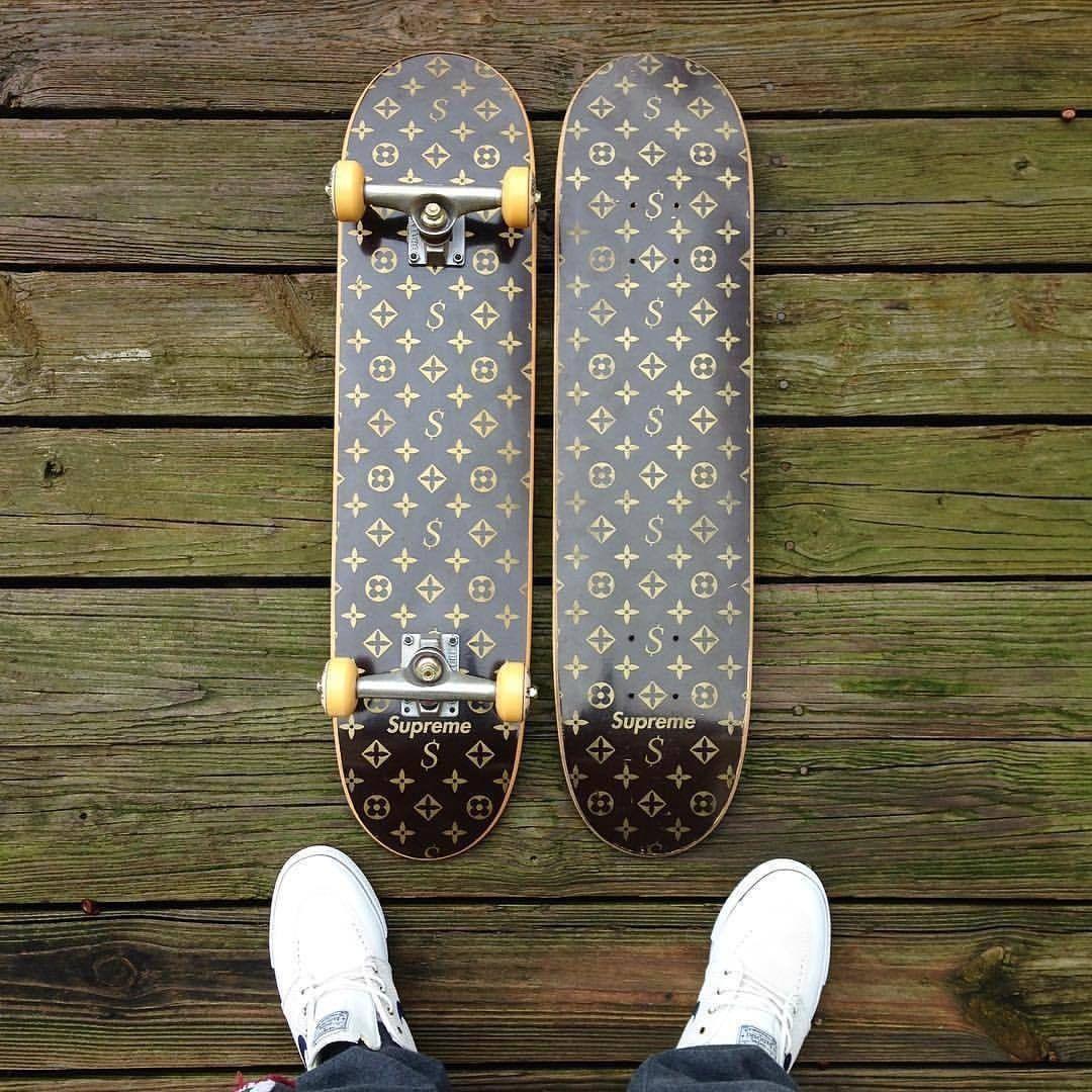 Скейтборды Louis Vuitton