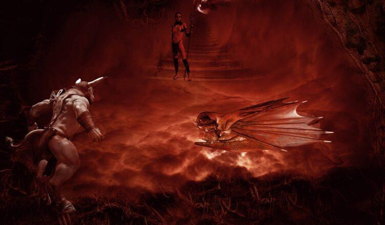 Демоны ада майя