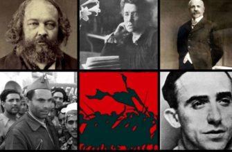 Знаменитые русские анархисты