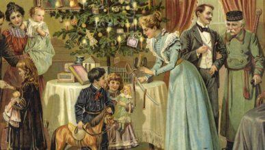 Как праздновали Рождество в разные эпохи
